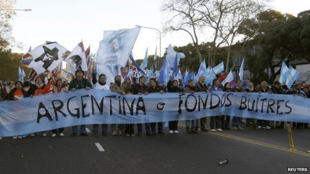 Stuart Yeomans - Argentina protests
